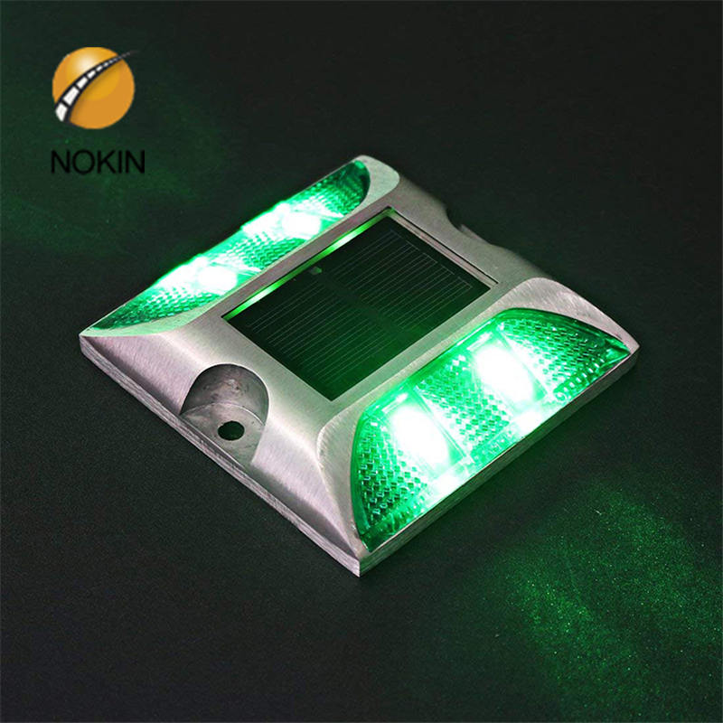 China Glass Solar LED Reflective Pavement Stud for