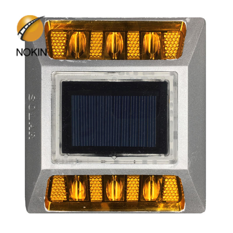 2-Sided Solar power Reflector Road Pavement Marker,