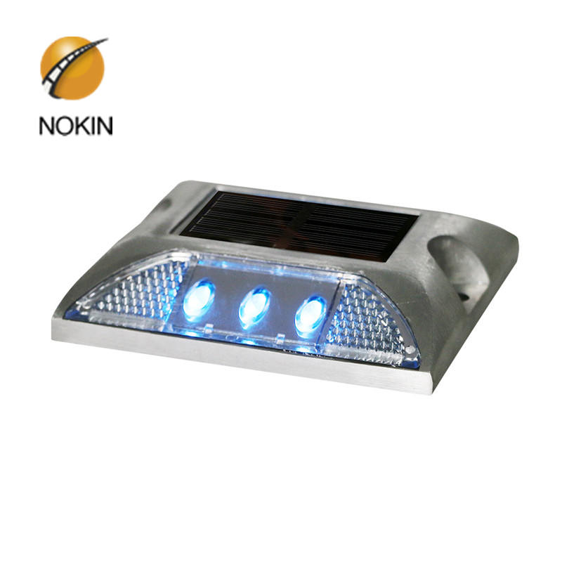 NOKIN Amber Raised Solar Road Stud Light For