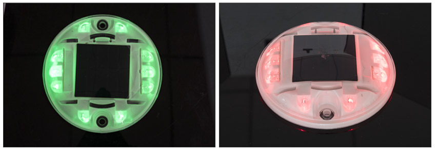Plastic Solar Raised Pavement Marker Light