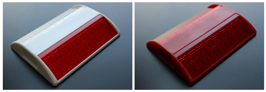 Red Raised Reflective Pavement Marker For Sale
